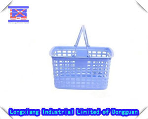 Plastic Household Mould, Plastic Shopping Basket, Colorful Double Handle Basket pictures & photos