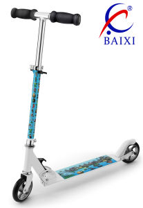 Foldable 2 Wheel Scooter for Kids (BX-1103B) pictures & photos