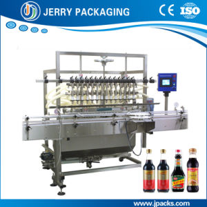 Atomatic Soy Sauce Bottled Bottle Bottling Liquid Filling Machine pictures & photos