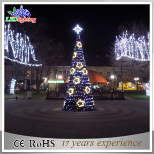outdoor giant star tower decoration square led christmas tree light