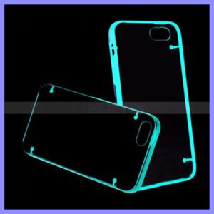 Double Mix Color Light up Flashing Glow in The Dark Mobile Phone Bumper Case for iPhone 6s Plus Samsung S5 S6 S7 Edge Note 4 5 pictures & photos