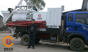 for Sale Concrete Mixer and Hydraulic Pump Truck