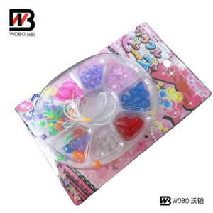 Color Strings and Beads Plastic Toy for Kids Stationery