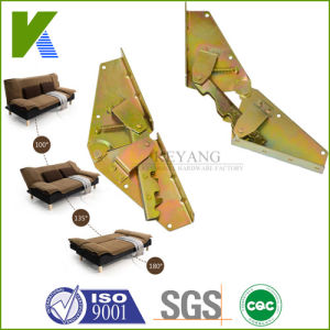 Metal Click Clack Futon Sofa Bed Mechanism Hinge