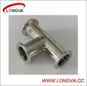Sanitary Stainless Steel Vacuum Clamp Tee pictures & photos
