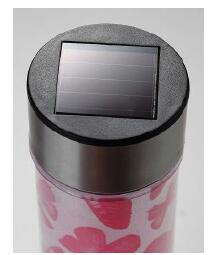 Solar Xmas Decorative Bollard with White LED pictures & photos