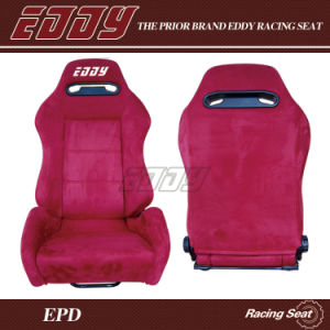 Red Suede/ Reclining Sport Car Seat/ Auto Seat