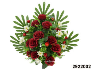 Artificial/Plastic/Silk Flower Rose Lying Bush (2922002) pictures & photos