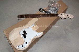 Hanhai/Electric Bass Guitar Kit with 4 Strings (DIY Guitar Parts) pictures & photos