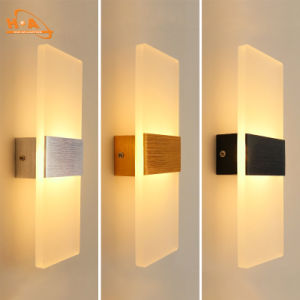 Modern Design Acrylic Lamp Led Wall