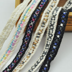 Fashion Beaded Trimming Garment Accessories in Stock