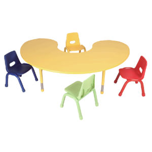 Kindergarten Chairs And Tables, Kid Chair And Table Set, Plastic Table  Student Chair