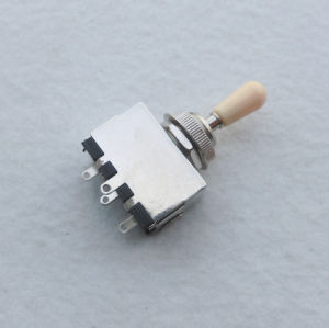 for Lp Style Guitars Closed 3 Way Toggle Guitar Switch pictures & photos