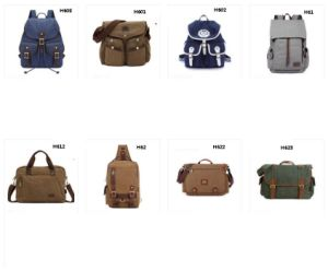 Vintage Canvas Satchel Messenger Shoulder Crossbody Sling Bag Kid′s Backpack Men′s Backpack Women′s Backpack pictures & photos