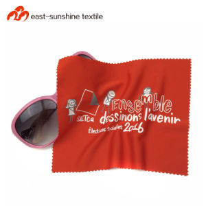 25591e6724c6 Promotion Custom Full Color Sublimation Printed Microfiber Velvet Optical  Lens Cleaning Cloth