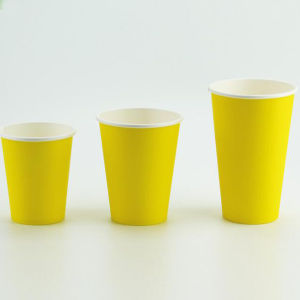 PE Coated 6oz 8oz 16oz Disposable Paper Coffee Cup Factory