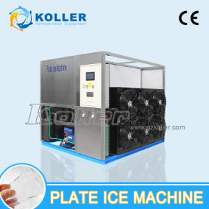 Koller Plate Ice Machine for Fishery, Edible Plate Ice, Ice Machine 3tpd
