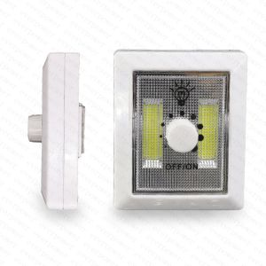 Dimmer Battery Powered COB 3W LED Night Lamp