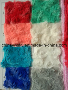 Fashionable China Manufactorer Polyester Spun PV Plush Fleece pictures & photos