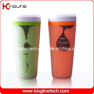 400ml Double Wall Plastic Cup Lid (KL-5005) pictures & photos