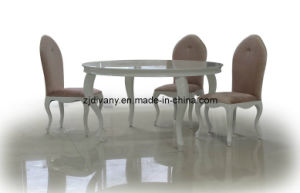 Post-Modern Wooden Table Round Dining Table (LS-214) pictures & photos