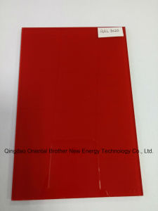 3-6mm Painted Glass of Ral3020 Red