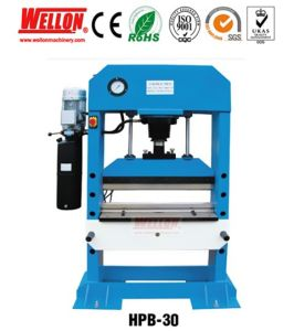 Hydraulic Press Bending Machine (Hydraulic Press brake HPB30 HPB50 HPB63) pictures & photos