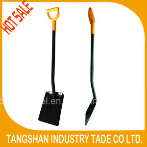 Ergonomic Handle All Steel Square Shovel S519cpd pictures & photos