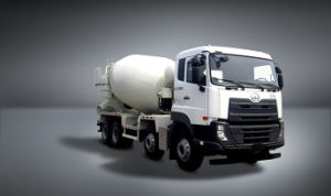 Ud 7400L 8X4 390HP Euro IV Cement Mixer Truck