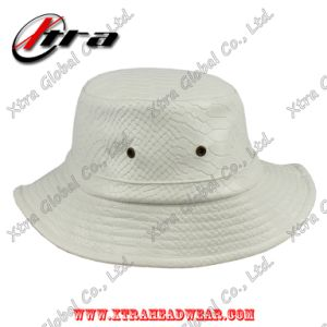 Fashion Unisex Snakeskin Leather Hat pictures & photos