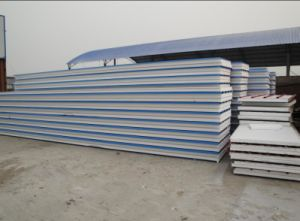 Lightweight Prefab House Material 75mm EPS Sandwich Panel pictures & photos