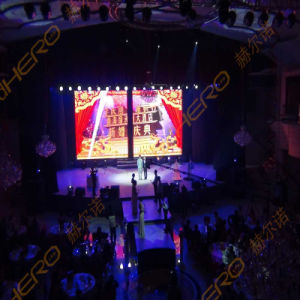 P6.25 Indoor Rental LED Display Aluminum Extrusions HD Video Wall