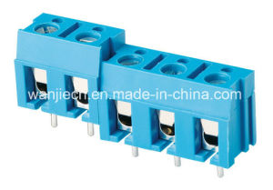 Best Selling PCB Screw Terminal Block (WJ370-7.5/15.0mm) pictures & photos
