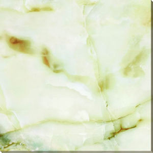 Green Full Polished Glazed/Marble Design Ceramic Tile pictures & photos