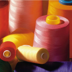 Spun Polyester 40/2 Sewing Thread pictures & photos