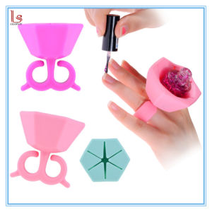 Astounding 2017 Newest Hot Sale Wearable Nail Polish Holder On Amazon Ebay Interior Design Ideas Tzicisoteloinfo