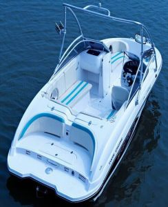 Twin Engine Yacht with 300HP