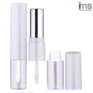 8.5ml Duo Round Plastic Lip Gloss/Lipstick Case pictures & photos