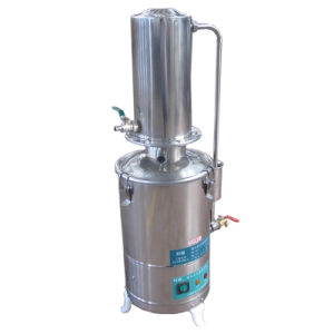 Industrial Lab Water Distiller with Water-Cooled pictures & photos