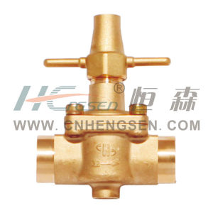 Discontinue Valve with Brass Handle Refrigeration Parts Air Conditioner Parts pictures & photos