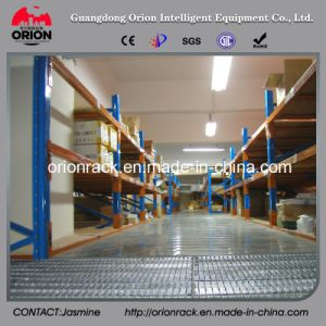 Warehouse Storage Steel Mezzanine Rack Floor System