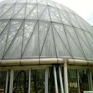 Luxury Geodesic Dome Tent with Clear PVC Fabric and Steel Pipes Frame