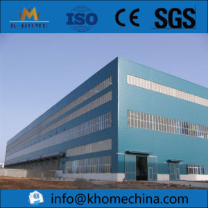 1000 Square Meters Stable Steel Structure Workshop with Crane pictures & photos