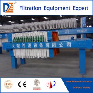 Dazhang Manual Chamber Sludge Filter Press pictures & photos