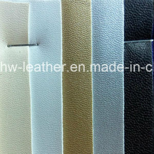 High Stretch PU Leather for Garments (HW-1640) pictures & photos