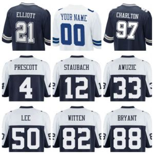 sports shoes 46439 2761d China Dallas Football Jersey Dal Blue White Throwback ...