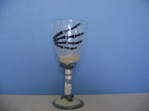 Halloween Party Toys Tableware Skeleton Cup