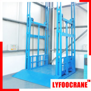 Hydraulic Power Goods Elevator Lifting Height 24m Capacity 10t pictures & photos