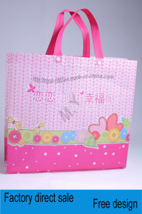 Grocery PP Non Woven Garment Storage Tote Shopping Bag