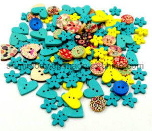 Beautiful Wooden Buttons/Icons for Scrapbooking & DIY Crafts pictures & photos